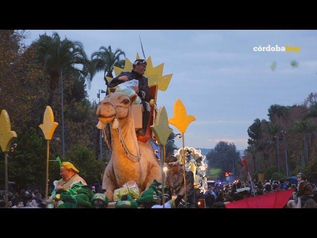 Sus Majestades de Oriente pudieron llenar de ilusión las calles de Córdoba