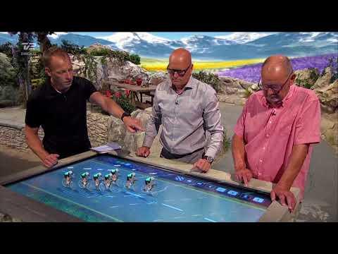 TV 2 Denmark Tour de France 2018 studio