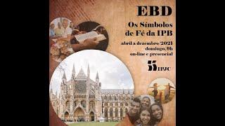Escola Bíblica 02/05/2021   A doutrina da criação