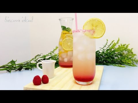 Sparkling Pink Lemonade from scratch | d for delicious