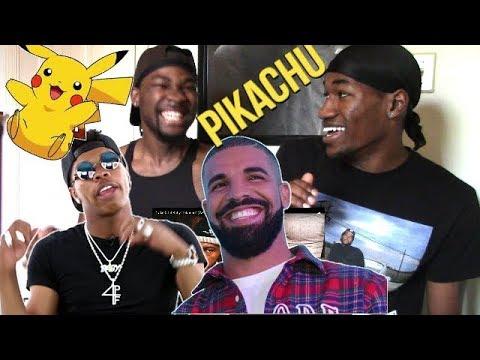 "Drake & Lil Baby ""Pikachu""(Reaction)"