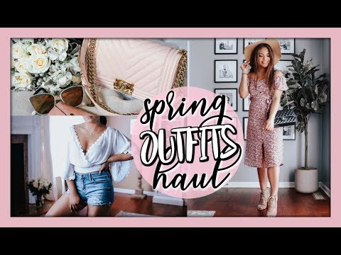 SPRING OUTFITS TRY ON HAUL & NEW CHANEL BOY BAG!