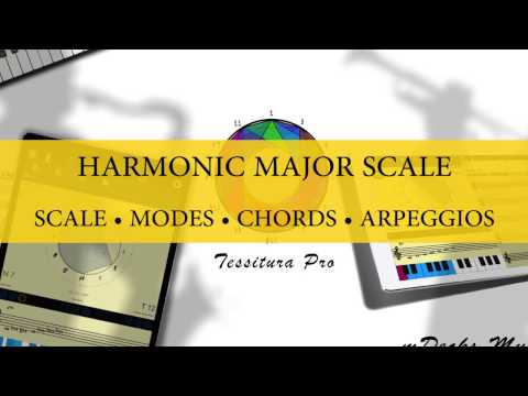 harmonic major scale wiki everipedia