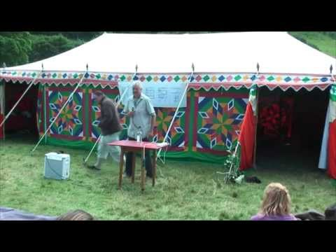 How to be incredibly healthy, naturally - Clive de Carle @ Conscious Tribal Gathering 2015