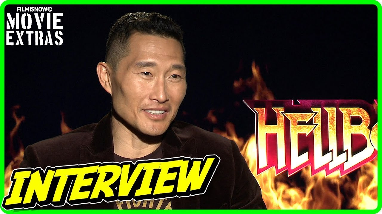 HELLBOY | Daniel Dae Kim talks about the movie - Official Interview