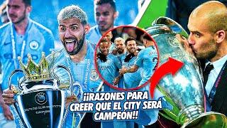 5 CONTUNDENTES RAZONES para creer que Manchester City PUEDE GANAR la CHAMP1ONS LEAGUE este año