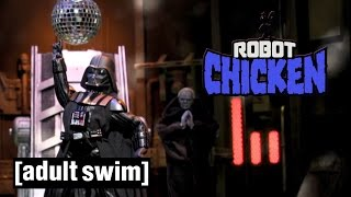 4 Classic Darth Vader Moments | Robot Chicken Stars Wars | Adult Swim