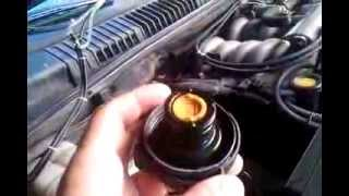 bouchon liquide de refroidissement LR sur P38