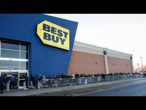 VLOG #4 Best Buy BLACK FRIDAY Shopping In Dallas/Fort Worth