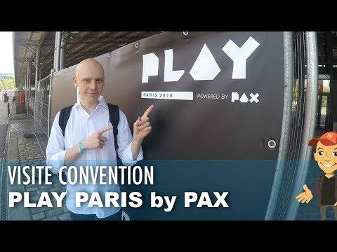 VISITE du PLAY PARIS by PAX ! Un salon JEUX VIDEO