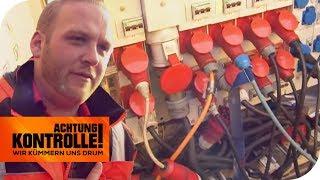 STROMKLAU! Wer zapft den Strom auf dem Flohmarkt an? | Achtung Kontrolle | kabel eins