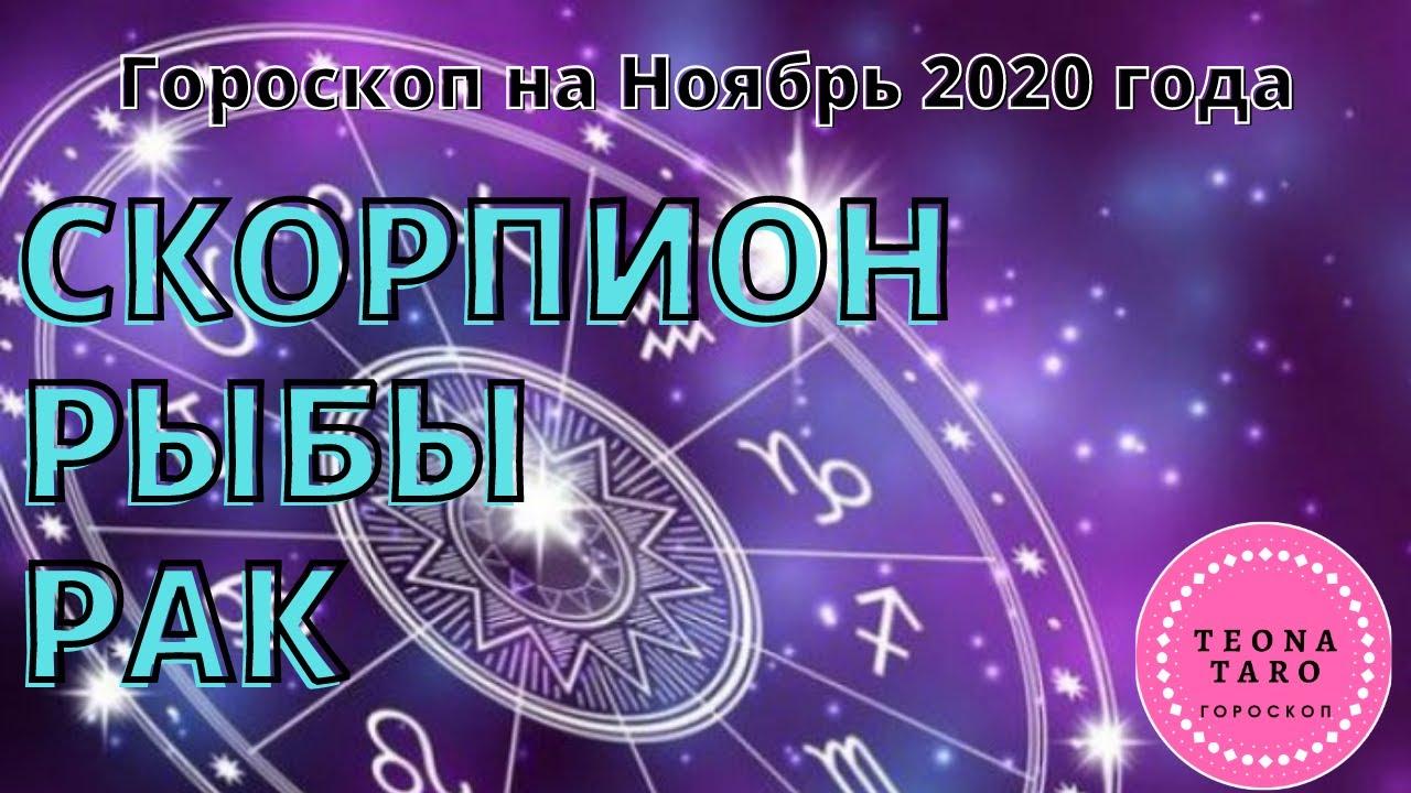Гороскоп скорпионы, рак, рыбы на ноябрь 2020 года. тароскоп. # скорпион #рак #рыбы #гороскоп