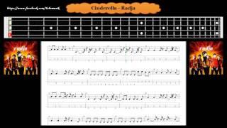 Bass - Cinderella - Radja ( Tab Bass Cover )