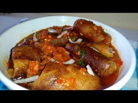 Kpomo Stew | Stewed Kpomo  (Pomo)| Cow Skin Stew Recipe