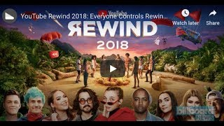 YouTube Rewind 2018 becomes YouTube's most disliked video of all time