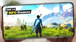 Top 10 Best RṖG Games for Android and iOS! | High Graphics RPG Games
