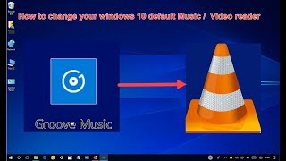how to change the video default reading software {set up your default software}