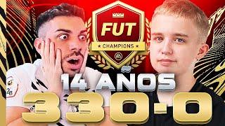 ESTE NIÑO ES EL MEJOR JUGADOR DE FIFA 21 DEL MUNDO