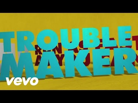 Troublemaker (Lyric Video) ft. Flo Rida