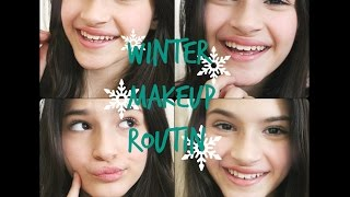 winter makeup routin | האיפור היומיומי שלי בחורף Thumbnail