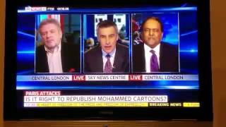 SKY News: Should Cartoons of the Holy Prophet Muhammad (pbuh) be published?