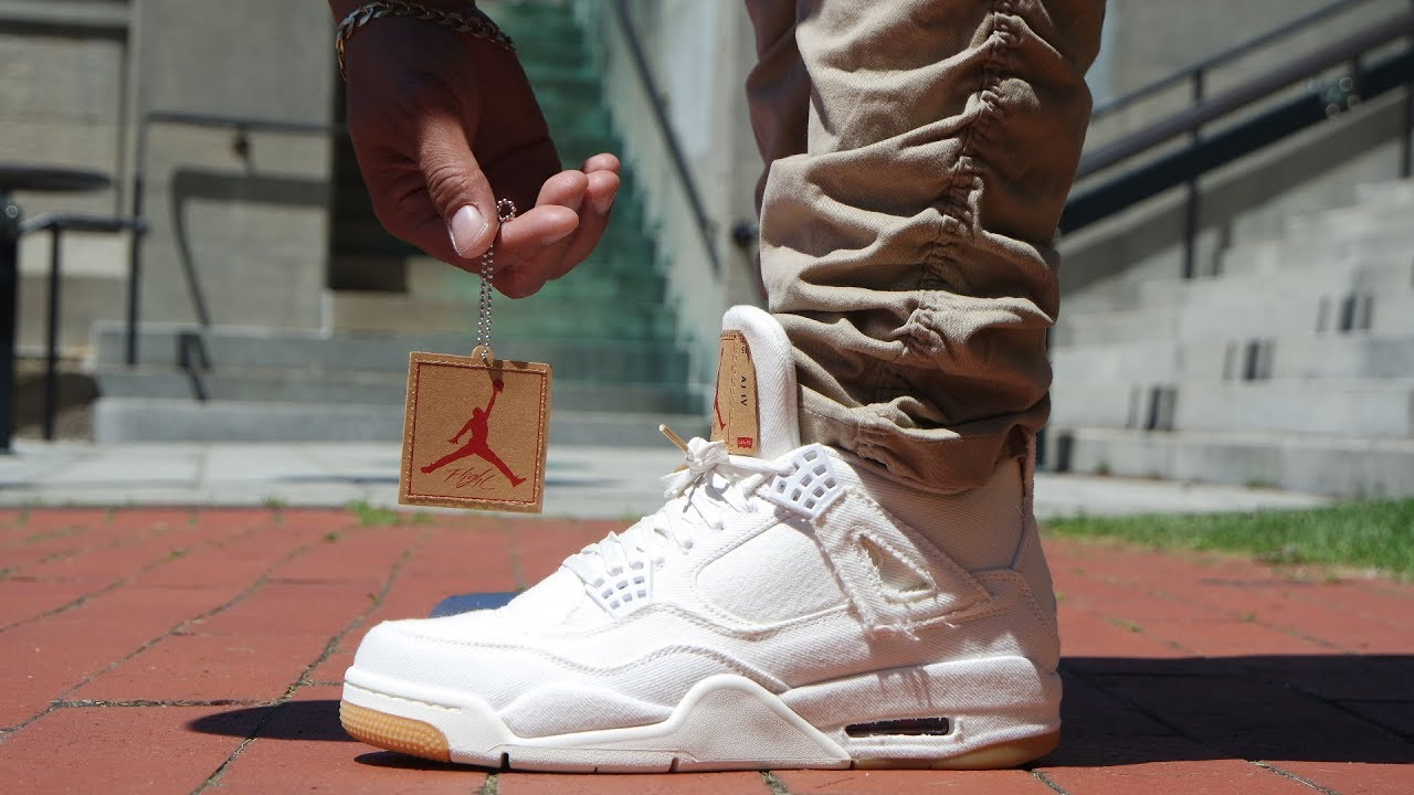 big sale b8b6e a1324 AIR JORDAN 4 'LEVIS'
