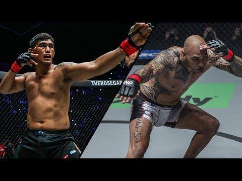 Aung La N Sang Vs. Brandon Vera | All Knockouts | ONE Highlights