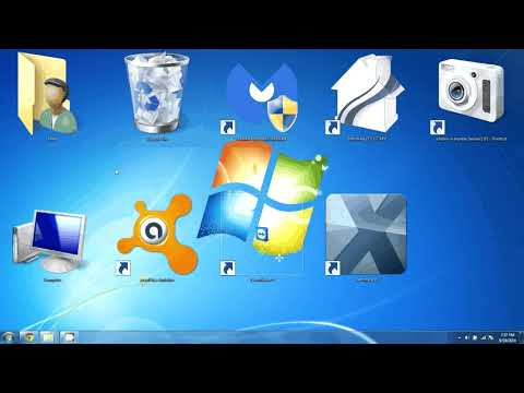 Icons Too Big Or Small? Resize Windows 7 Desktop Icons - Works With Windows 8, 8.1 And 10