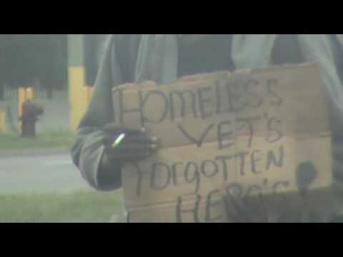 Homeless Man, Corner of Grand River/Telegraph, Detroit, Michigan, July 16, 2016
