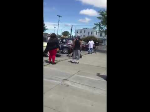 Salinas ca Fight - Homie from SAP getting down in Cinatown