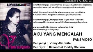 VINNY ALVIONITA - Aku Yang Mengalah (Baliyanto & Deddy Dhukun)