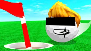 ROBLOX SUPER GOLF is SUPER FUN..
