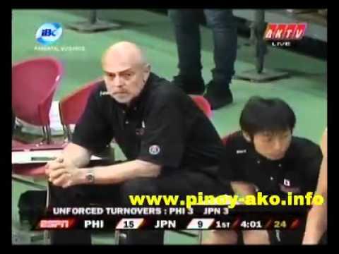 Smart Gilas Pilipinas vs Japan Jones Cup 2011 Part 1