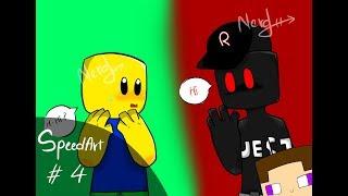 #4 Noob and Guest 666 [ROBLOX SPEEDART]