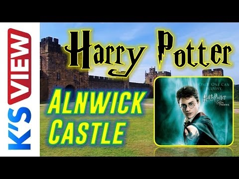 Alnwick Castle UK - Harry Potter movie shooting site    Kamil&39;s View