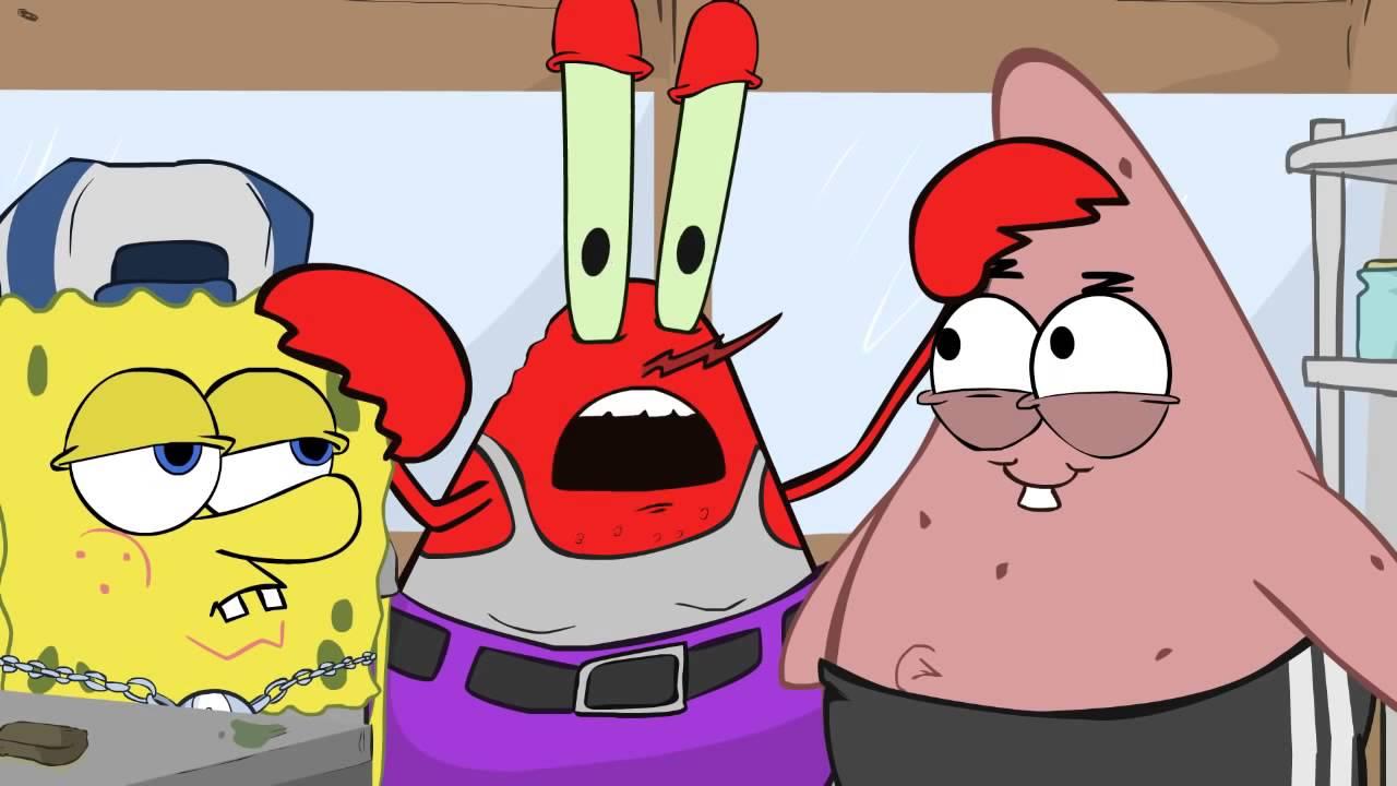Ghetto spongebob:Patrick hits it - YouTube |Ghetto Spongebob