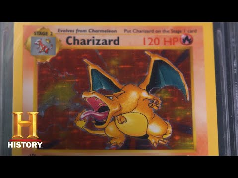 Pawn Stars: Rare Collection Of Charizard Pokemon Cards (Season 14) | History