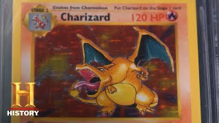 Pawn Stars: Rare Collection of Charizard Pokemon Cards (Season 14) | History