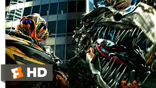 Transformers: Age of Extinction (8/10) Movie CLIP - Dinobot Reinforcements (2014) HD
