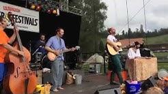 Andrew Bond & Band, Konzert auf dem Zugerberg mit ihrem Programm «Alli mached Mischt»