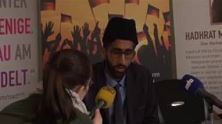 Germany Ahmadi Muslims hold press conference