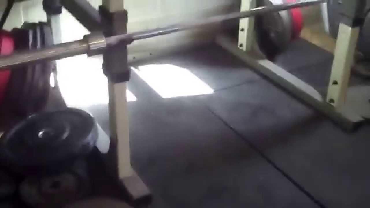 Lifting on a slanted garage floor? youtube