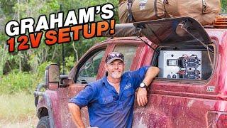 Graham Cahill's Dual Battery Install Secrets + how he keeps his Fridge running 200 days a year