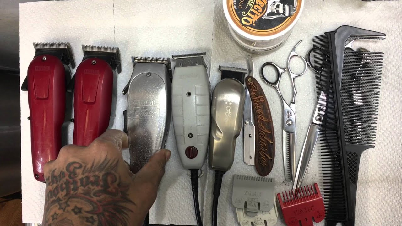 Vintage Barber Equipment