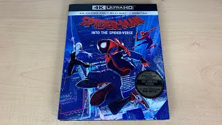 Spider-Man Into the Spider-Verse - 4K Ultra HD Blu-ray Unboxing