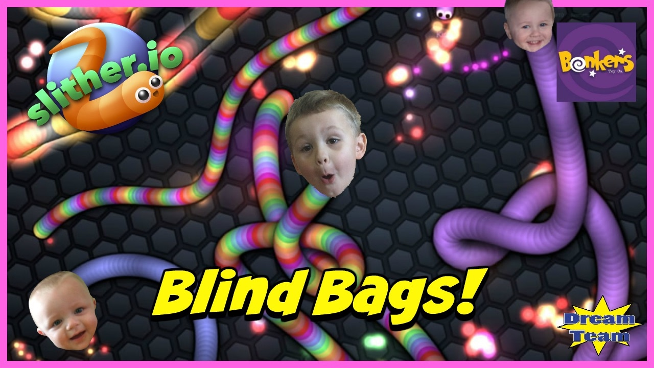 Slither Io Blind Bags Bonkers Toys Slither Io Blind Bag