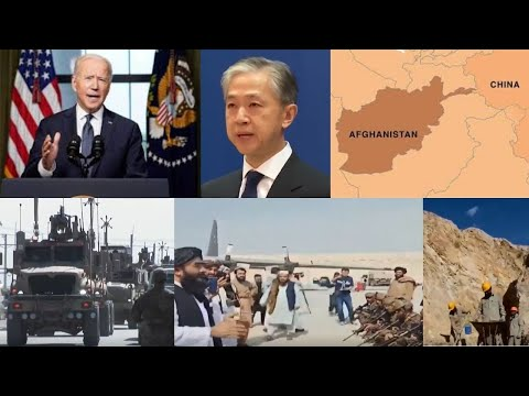 China _US withdrawal signals Afghanistan has turned a new page