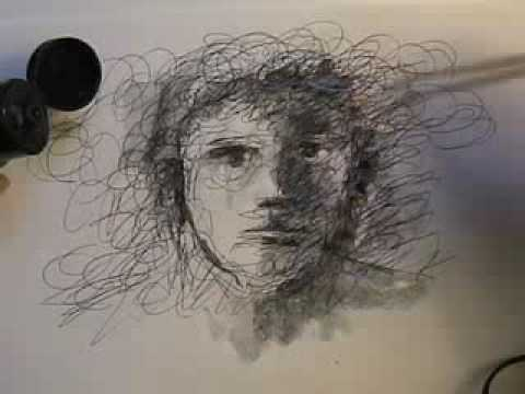 Scribble Pen Drawing : This incredible drawing pen lets you scan and pick colors from