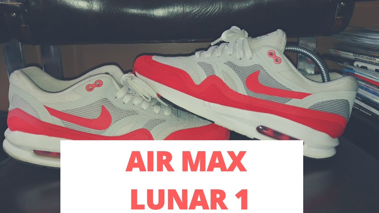 3b621a18c1 Cleaning a pair of Nike Air Max Lunar One's. - YouTube