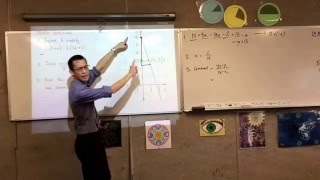 Reviewing Expanding and Simplifying, Fractional algebra and Gradient